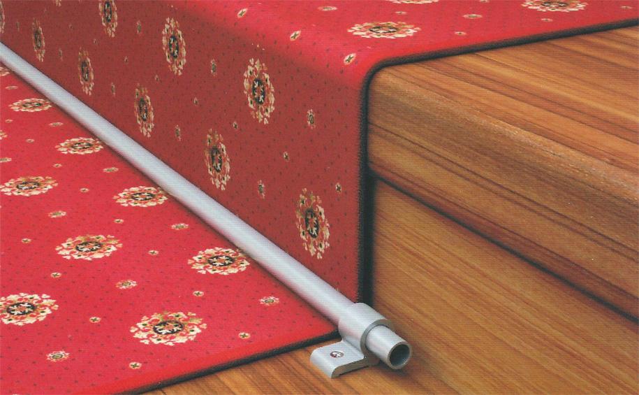 Крепление для ковровой дорожки на лестнице своими руками